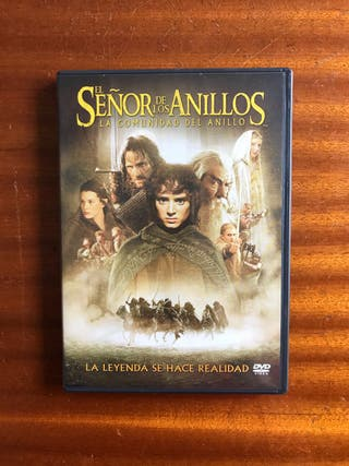 DVD El Señor de los anillos + bonus