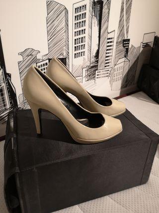 zapatos peep toe Zara