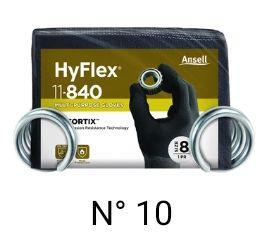 3 ANSELL HyFlex®11-840 TALLA 10