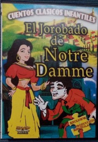 El jorobado de Notre Dame, DVD.