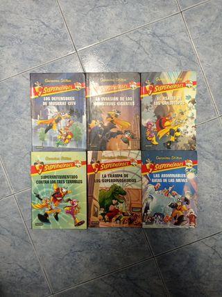 Libros Gerónimo Stilton Superheroes