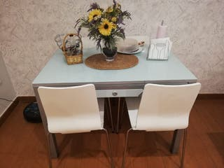 Mesa de cocina de el corte inglés extensible