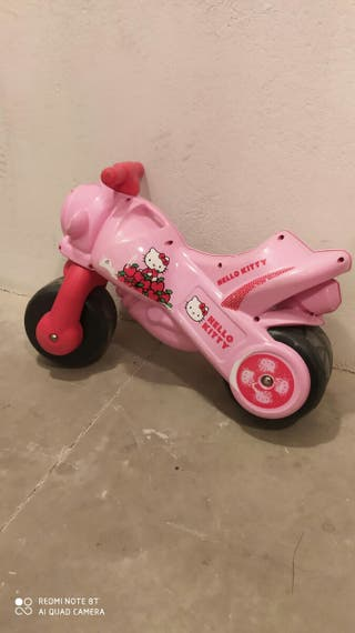 moto hello kitty niña
