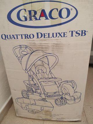 Carro Graco Quattro Deluxe Tsb