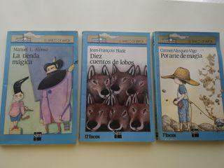 Tres libros del Barco de Vapor
