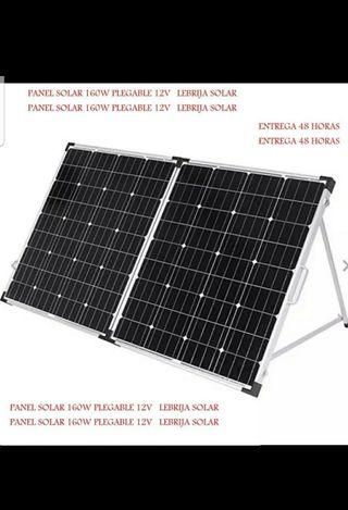 panel solar portátil 160w