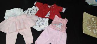 lote ropa bebé. tallas 0/3 3 meses