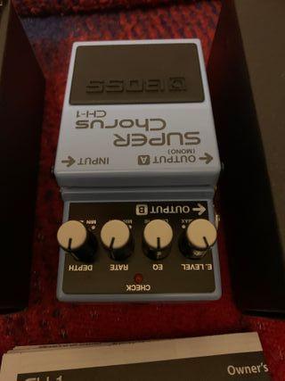 BOSS CH-1 Super Chorus - Pedal guitarra