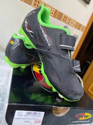 Zapatillas bici de montaña junior