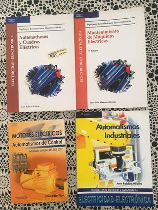 Libros de mantenimiento y automatismos