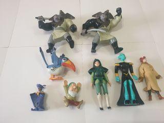 Lote Disney 8 figuras gran estado.