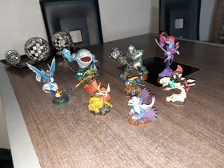 10 muñecos de la Wii