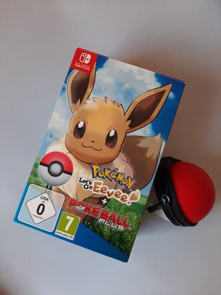 Pokeball Plus + Let's Go Eevee