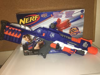 Nerf - Elite Stockade de 20 Dardos