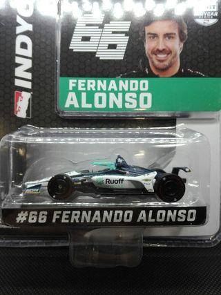 Indycar Fernando Alonso 2020 Greenlight 1/64