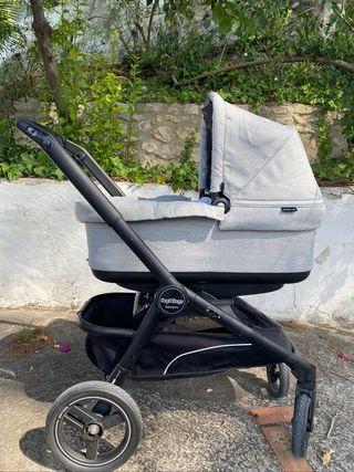 carrito bebe simple y doble