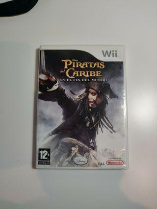 Piratas del Caribe Wii
