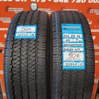 Neumaticos 245 70 16 111T Bridgestone Ref.26747