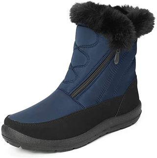 Camfosy Botas de Nieve para Mujer Zapatos de
