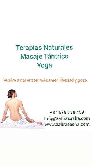 Masajes Tántrico, Terapias, Yoga