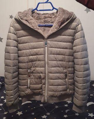 chaqueta reversible mujer