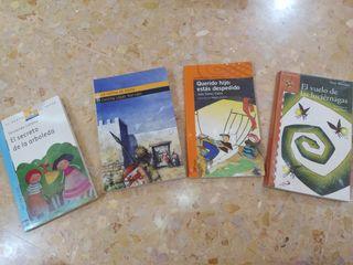 Libros de literatura infantil (Primaria/ESO)