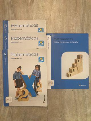 Matemáticas Primaria 5