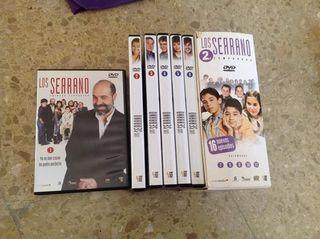 Colección 2 temporadas completas Los Serrano