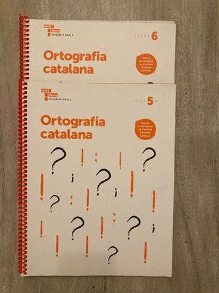 Ortografía Catalana. Primaria 5 y 6.