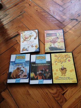 5 películas niños rey león hércules