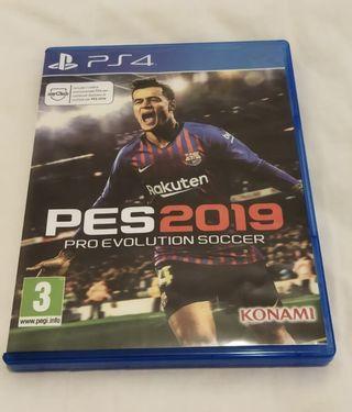 Juego Pes19 para PlayStation4