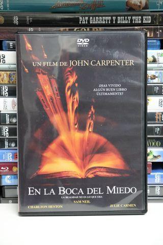 En la boca del miedo (John Carpenter) - DVD