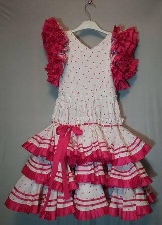Vestido de Gitana para niña pequeña
