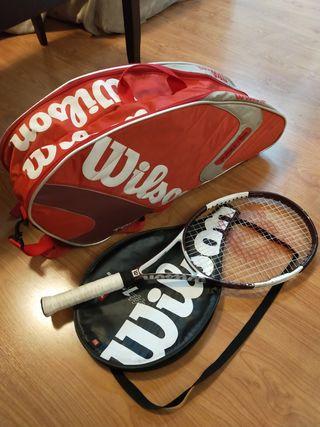 Raquetero + raqueta