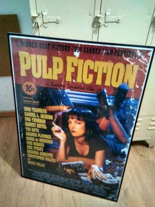 Cartel poster de cine película Pulpo Fiction