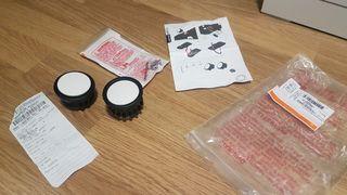 bugaboo-set reparacion botón blanco a estrenar