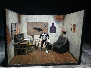 Diorama Castigador (Punisher) Marvel