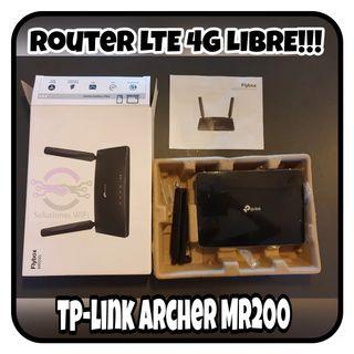 Router 4G TP-LINK ARCHER MR200 - Con plásticos