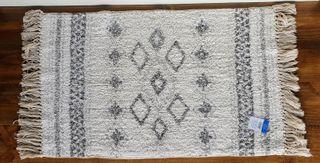 NUEVA - Alfombra de baño algodón (80x50 cm)