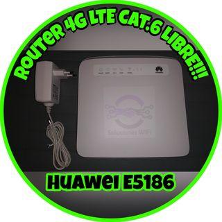 Router 4G LTE Cat.6 LIBRE!!! - Sin caja original