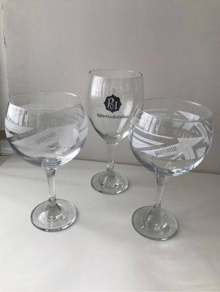 3 copas nuevas