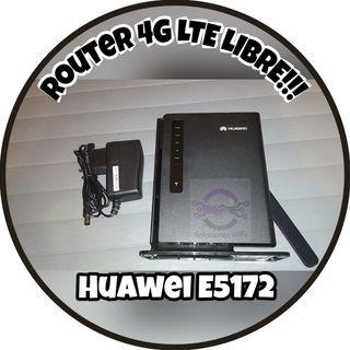 ROUTER MÓDEM LTE 4G LIBRE!!! - Sin caja original