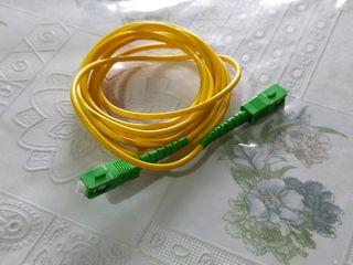 cables fibra óptica y ethernet
