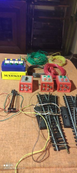 material eléctrico maqueta tren ibertren ho