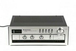 Amplificador integrado hifi vintage Kenwood ka 300
