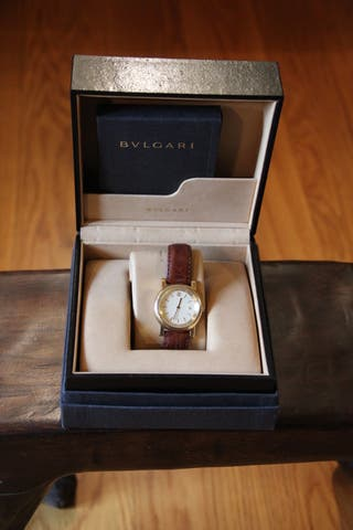 Reloj BVLGARI, AT 35 GL, set completo