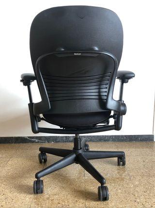 Silla escritorio oficina Steelcase Leap v1 negra