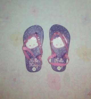 Zapatos Hello Kitty a estrenar