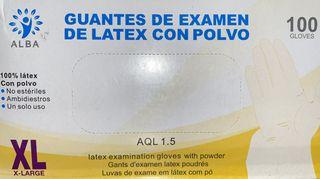 GUANTES DE LÁTEX / Caja de 100 Unds.