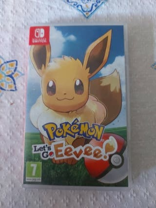 pokemon let's go eevee